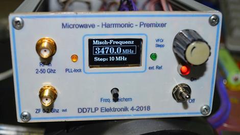 harmonic mixer DD7LP