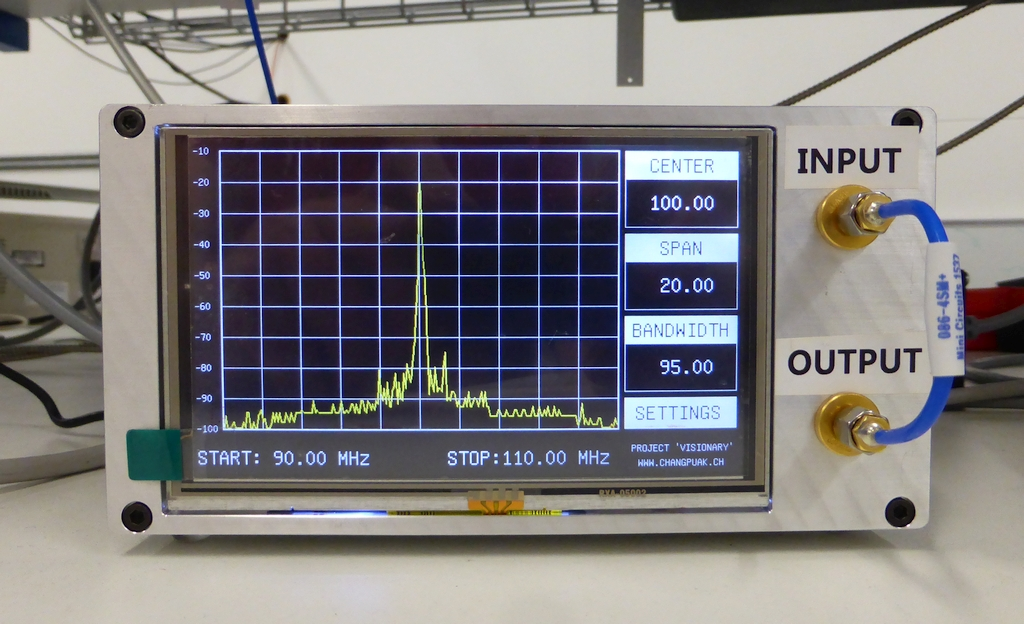 Spectre spectrum analyzer