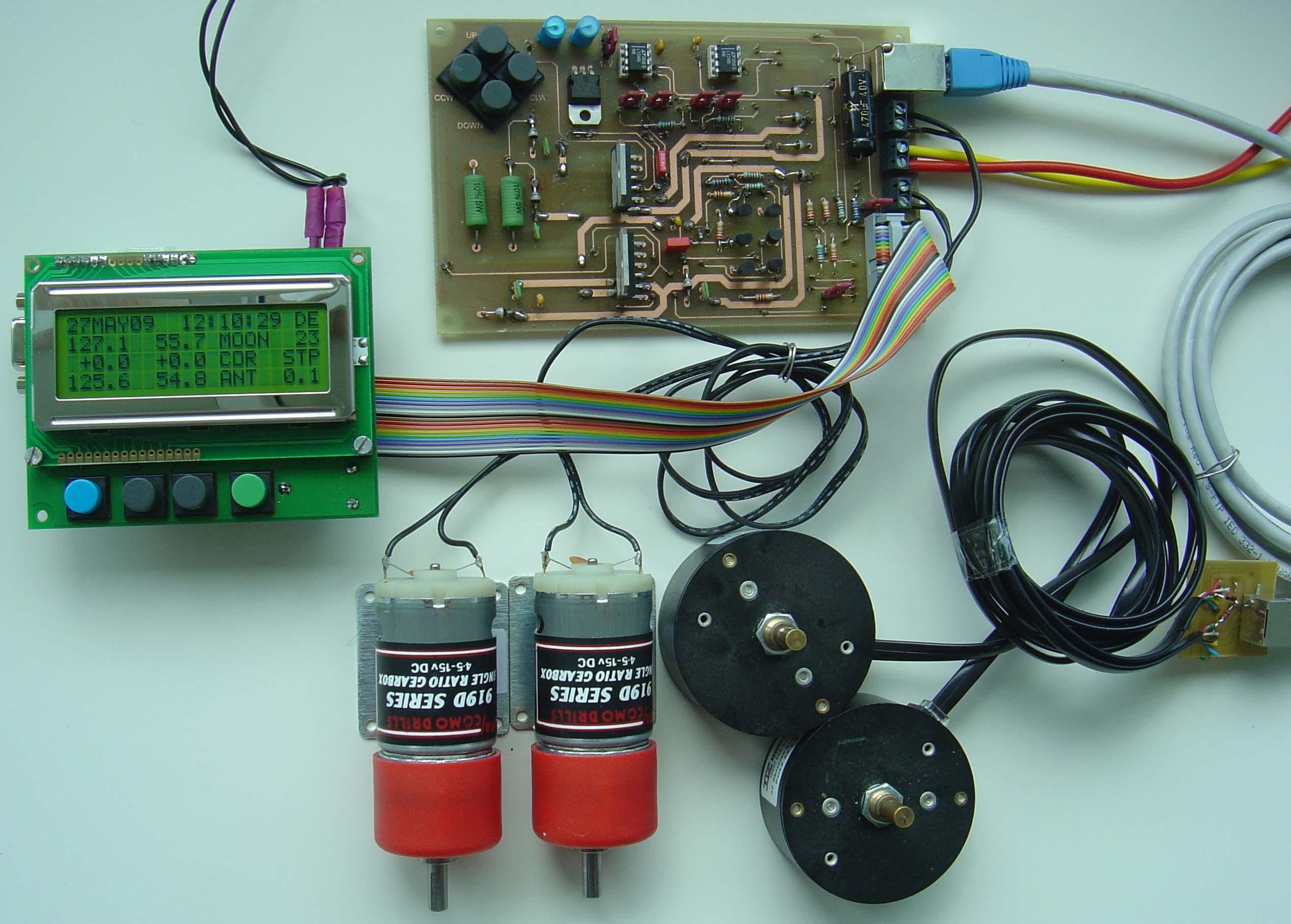 oe5jfl antenna control system