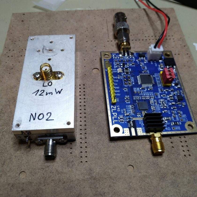 OE8WOZ 241GHz Local Oscillator