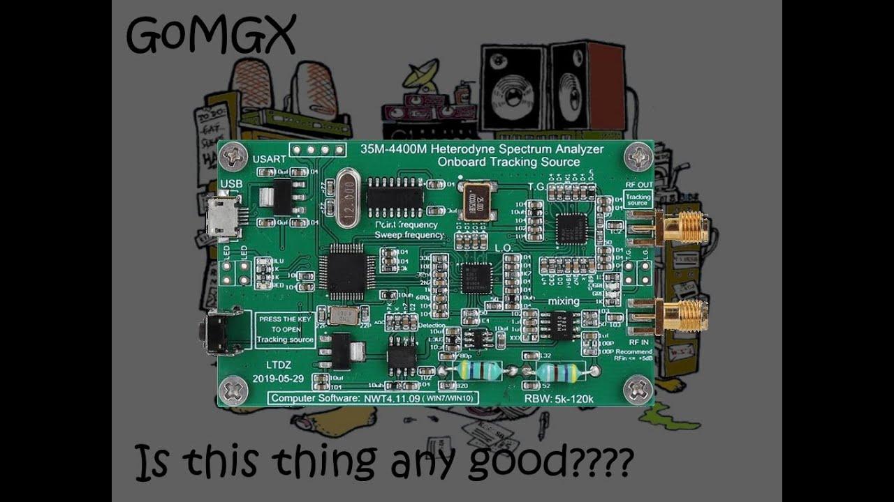 G0MGX Alternatives Spectrum Analyzer SDRplay