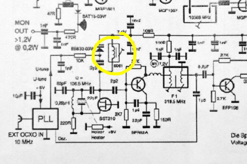 VK4GHZ Kuhne Local Oscillator  PLL