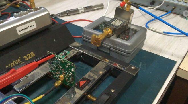 122GHz transverter pre-production sample tests – videos