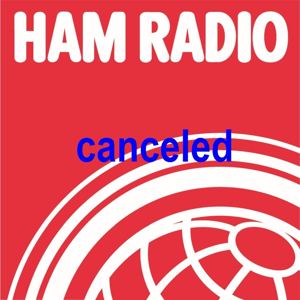hamradio Friedrichshafen canceled