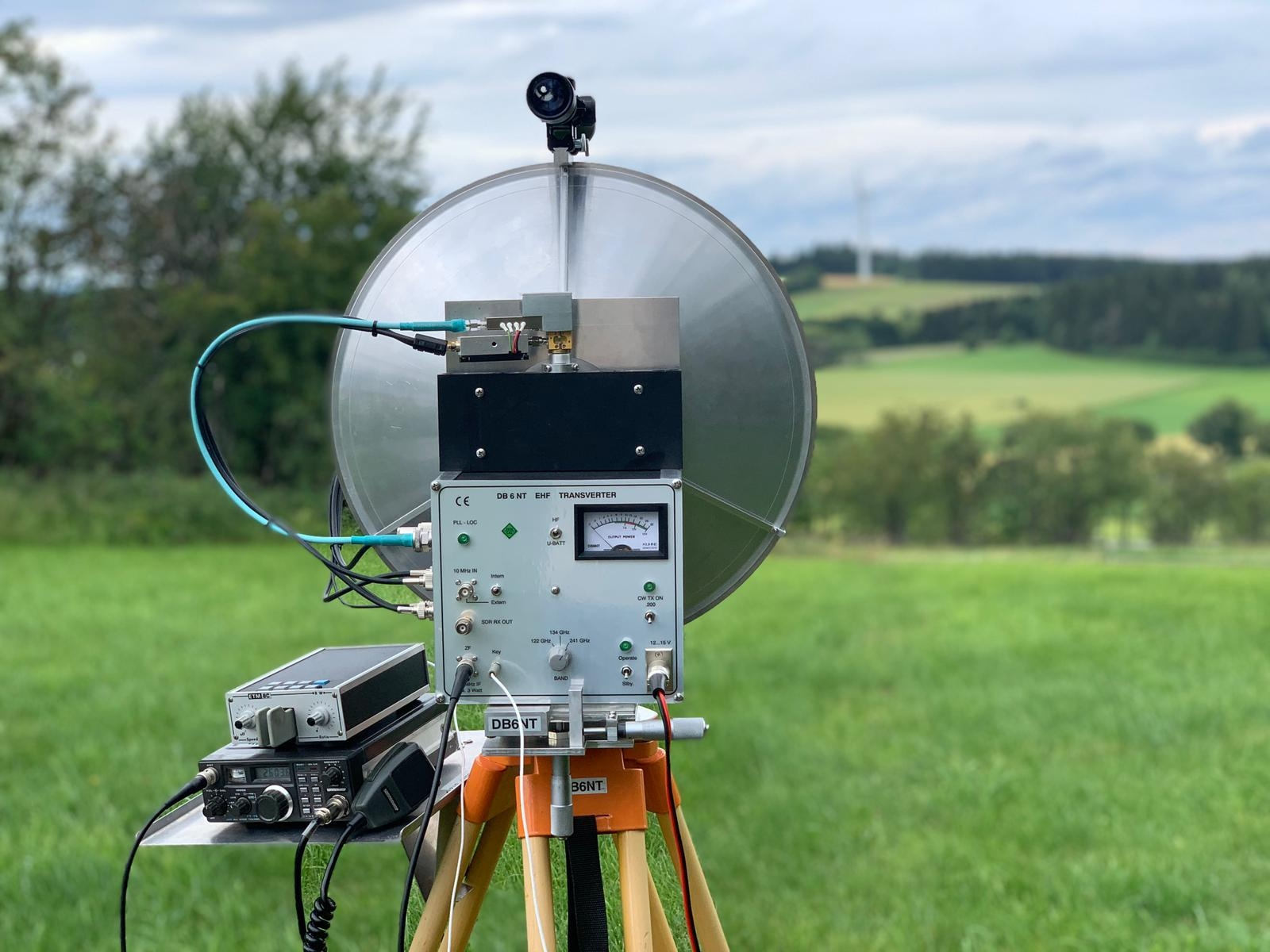 DB6NT first 725GHz QSO