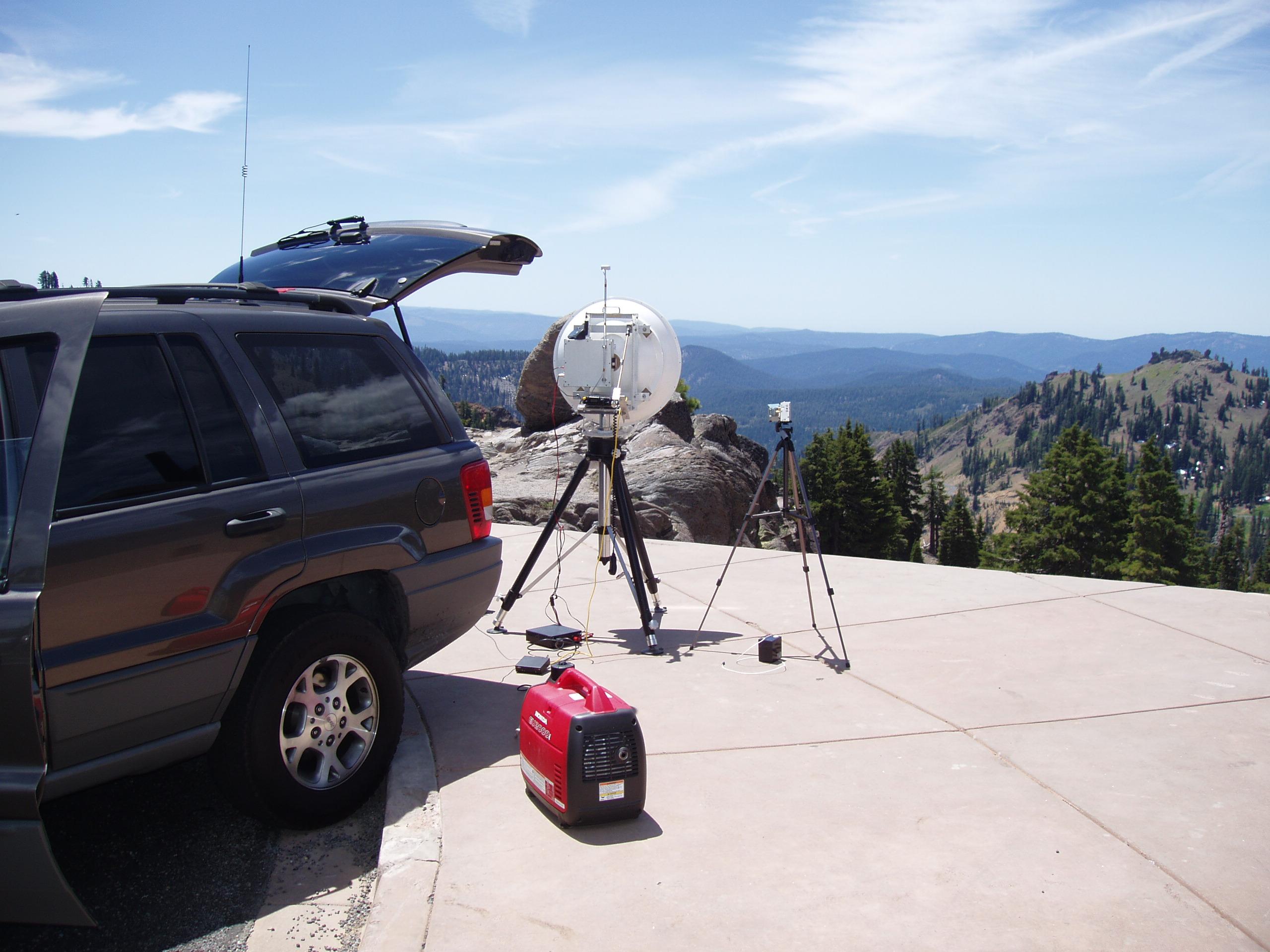 AD6IW Goram World Record 76 GHz