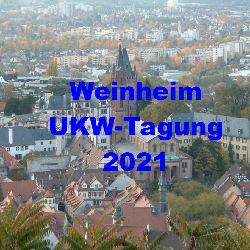 Weiheim UKW Tagung 2021