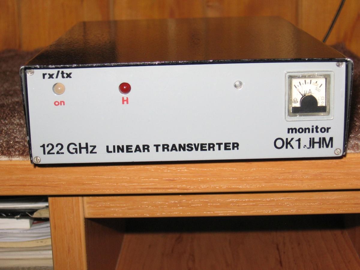 122 GHz History OK hamradio amateur radio